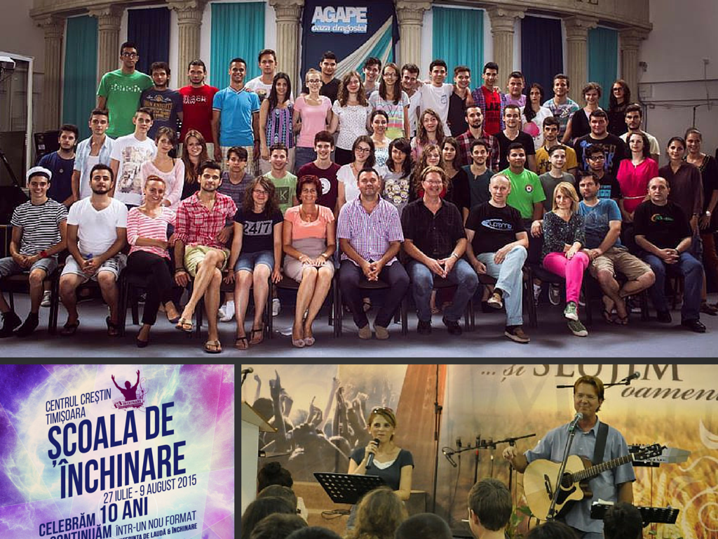 School of Worship Romania Collage 2015