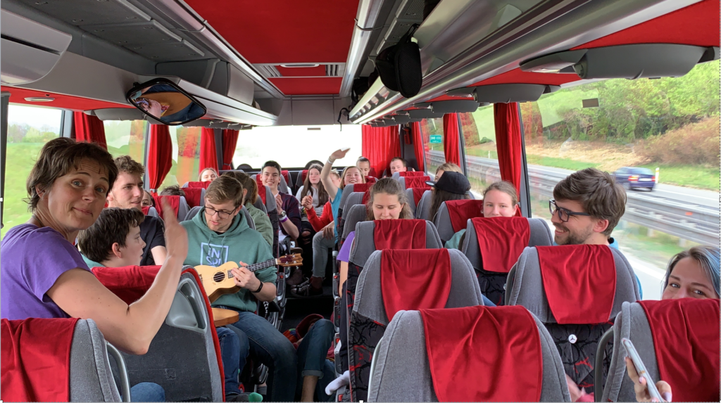 Riding With the Fusion Choir of Slovenia